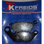 Pastilha De Freio Tk Tkm 61 - Ybr, Factor, Crypton