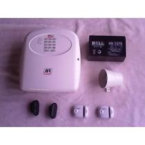 Kit De Alarme Jfl Brisa Cell 804 C/ Discadora Gsm ( Chip )