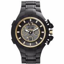 Relógio Armani Exchange Ax1194 Chronografo Original Garantia