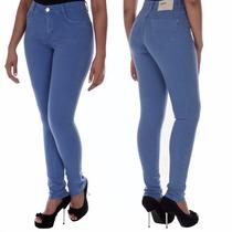 Sawary Calça Jeans Cintura Alta Hot Pants Sabrina Sato