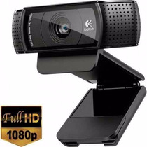 Logitech Hd Pro Webcam C920 Full Hd 1080p Carl Zeiss 15 Mp !
