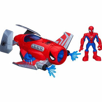 Boneco Novo Veiculo Homem Aranha Avião Hasbro