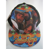 Boné Rock Aba Reta Banda The Beach Boys - Ropapreta