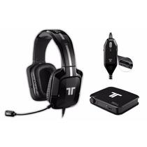 Headset Tritton 720+ 7.1 Xbox360;ps4;ps3 Mad Catz Preto