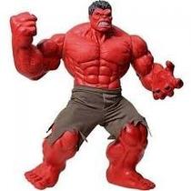 Boneco Red Hulk Vermelho Premium Grande 55cm Marvel Original