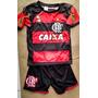 Conjunto Infantil Flamengo 2015 Pronta Entrega Frete Gratis