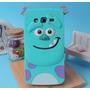 Capa Monstros Sa Sulley Samsung A7 A700m + Película De Vidro