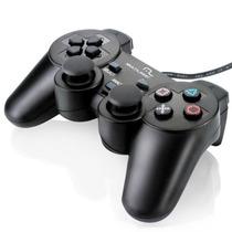 Controle Joystick Para Pc Usb Dual Shock Js030 Multilaser