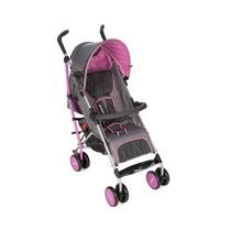 Carrinho De Bebê Umbrella Ride Rosa Dalia