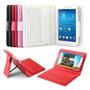 Kit Capa Teclado Bluetooth Samsung + Película Tab3 7 T110