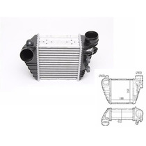 Radiador Intercooler Audi A3 Golf 1.8 Turbo - Novo