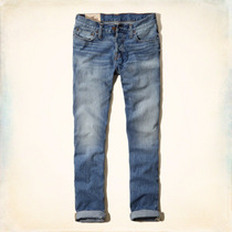 Hollister Classic Taper Calça Jeans W32 X L34 Masculina 42br