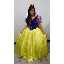 Fantasia Princesa Branca De Neve - Adulto