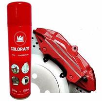 Tinta Spray Alta Temperatura Vermelho Motor Escape 600ºc