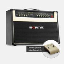 Cubo Amplificador Preto Guitarra Borne Evidence 100 2x10 !!!