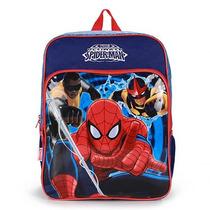 Mochila Escolar Infantil Homem-aranha - Marinho