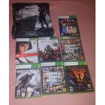 Xbox 360 4gb Travado Mais Jogos Originais Apenas Bh