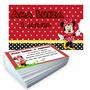 10 Convites Personalizados Foto E Envelopes Do Mesmo Tema