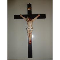 Crucifixo De Parede Madeira 32 Cm X 19 Cm