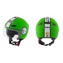 Capacete Texx Arsenal Verde,aberto,coquinho,ls2, Agv