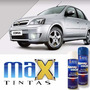 Tinta Spray Automotiva Gm Prata Escuna + Verniz 300ml