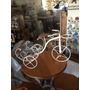 Bicicleta Revisteiro/jardim Em Ferro E Madeira