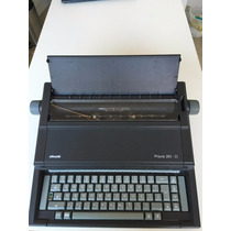 Maquina De Escrever Eletrica Olivett Praxis 201