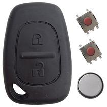 Capa Chave Telecomando Botões Bateria Renault Clio E Symbol
