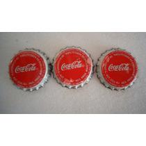 Coca Cola Tampinha Chapinha Refrigente Antigo Metal