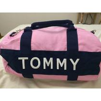 Bolsa Tommy Hilfiger Mini Dufle - Pequena - Rosa Nova