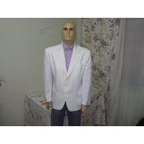 Blazer / Paletó Branco Da Estilo - Tam. 54m