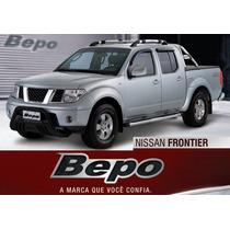 Nissan Frontier Sel - Parachoque De Impulsão Preto Bepo