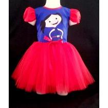 Vestido Infantil Festa Luna Bailariana Fantasia