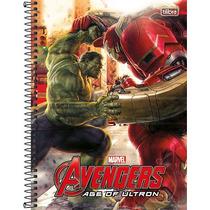 Caderno Universitário Avengers Vingadores 1 Mats 200 Fls