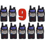 9 Radio Ht Dual Band(uhf+vhf) Baofeng Uv-5ra + Fone Ptt + Nf