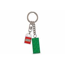 Chaveiro Lego Brick Verde 4x2 852096 Sem O Logotipo