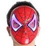 Mascara Do Homem Aranha Com Luz De Led