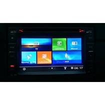 Kit Central Multimidia Tv Dvd Gps S90 Fiat Stilo Stillo