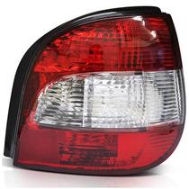 Lanterna Traseira Scenic -vermelha/cristal - 2001 Á 2009