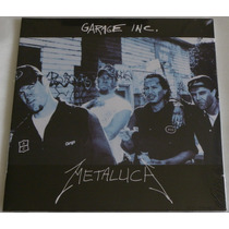 Metallica Garage Inc Lp Triplo Selado Made Europe Blackened