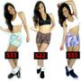 Kit 5 Short Curto Estampado Suplex Fitness E Academia