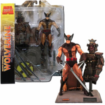 Wolverine Uniforme Marrom X-men Marvel Select