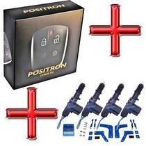 Kit Alarme Pósitron Cyber Px 330 + Travas Elétricas 4 Portas