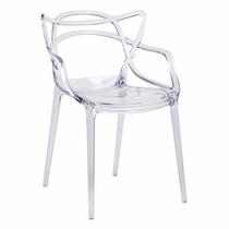 Cadeira Masters Design Allegra Em Policarbonato Transparente