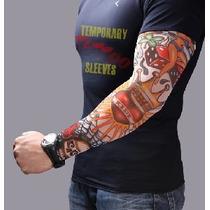 Tatuagem Falsa, Fake Tattoo/ Sleeve - O Par Pronta Entrega!