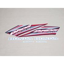 Kit Adesivos Honda Nxr 125 Bros Ks 2005 Vermelha