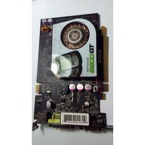 Placa De Vídeo 512mb Geforce 8600 Gt Ddr2 Pci-express