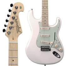 Guitarra Eletrica Tagima Branca Vintage T635