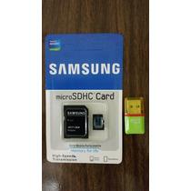 Cartão De Memória Micro Sdhc 32gb + Brinde Pendrive Usb/sd