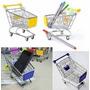 5 Porta Treco Mini Carrinho Compras Supermercado Menor Preço
